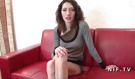Sex on the sofa under the stairs hot wife porn