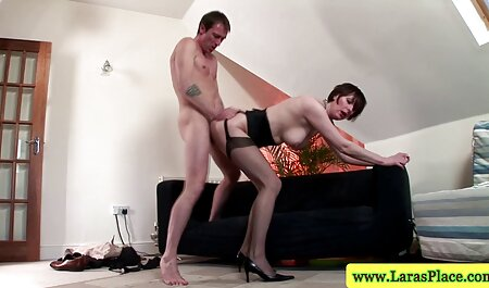 Two cocks in sex tube the ass and vagina to a beautiful blonde
