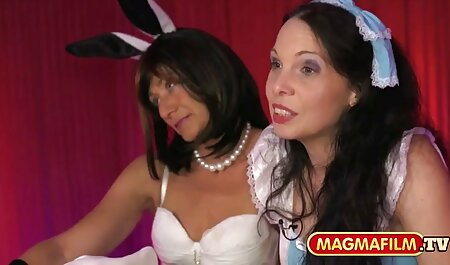 Hard tik tok xxx fuck for hot brunette and passionate blonde